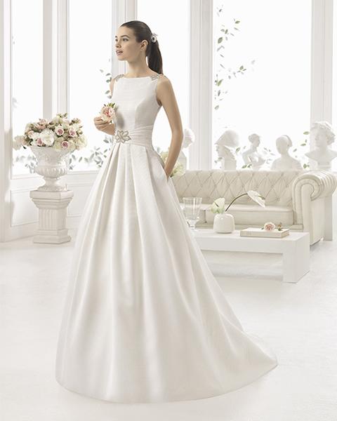 aire barcelona vestidos de novia colección 2016