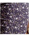 Pantalón chino estampado flores