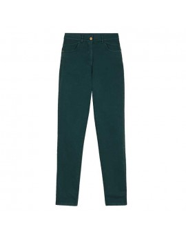 Pantalón 5 bolsillos verde