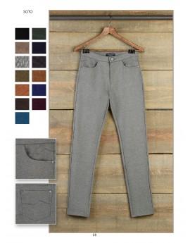 Pantalón básico 5 bolsillos